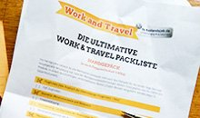 Working-Holiday-Packliste