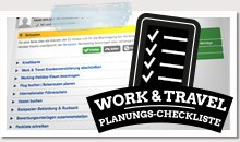 Work and Travel Checklist - Info