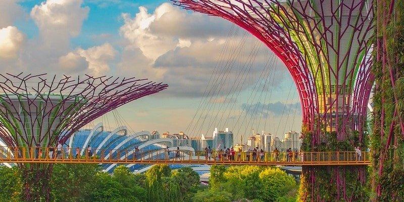 Touristenvisum für Singapur
