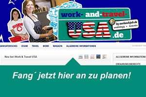 Fachportal Work and Travel USA